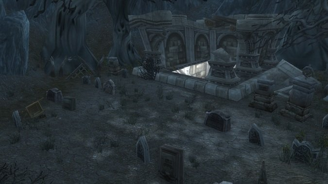 hidden crypts of Karazhan