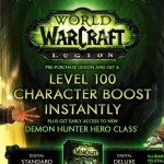 Level 100 boost lets you try a class before boosting