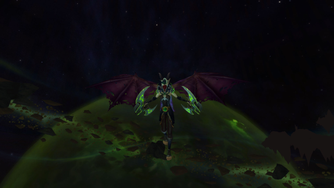 The Demon Hunter experience in Legion's alpha