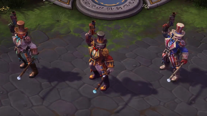New skins mounts and bundles datamined in latest heroes - Heroes of the storm space lord leoric ...