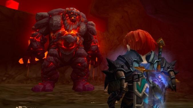 wow molten core death knight header