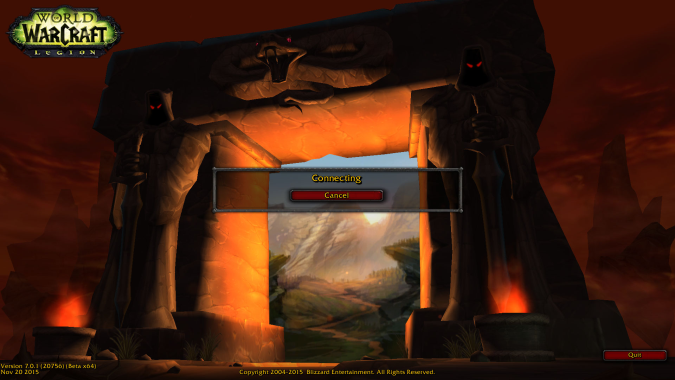 Legion Alpha Login
