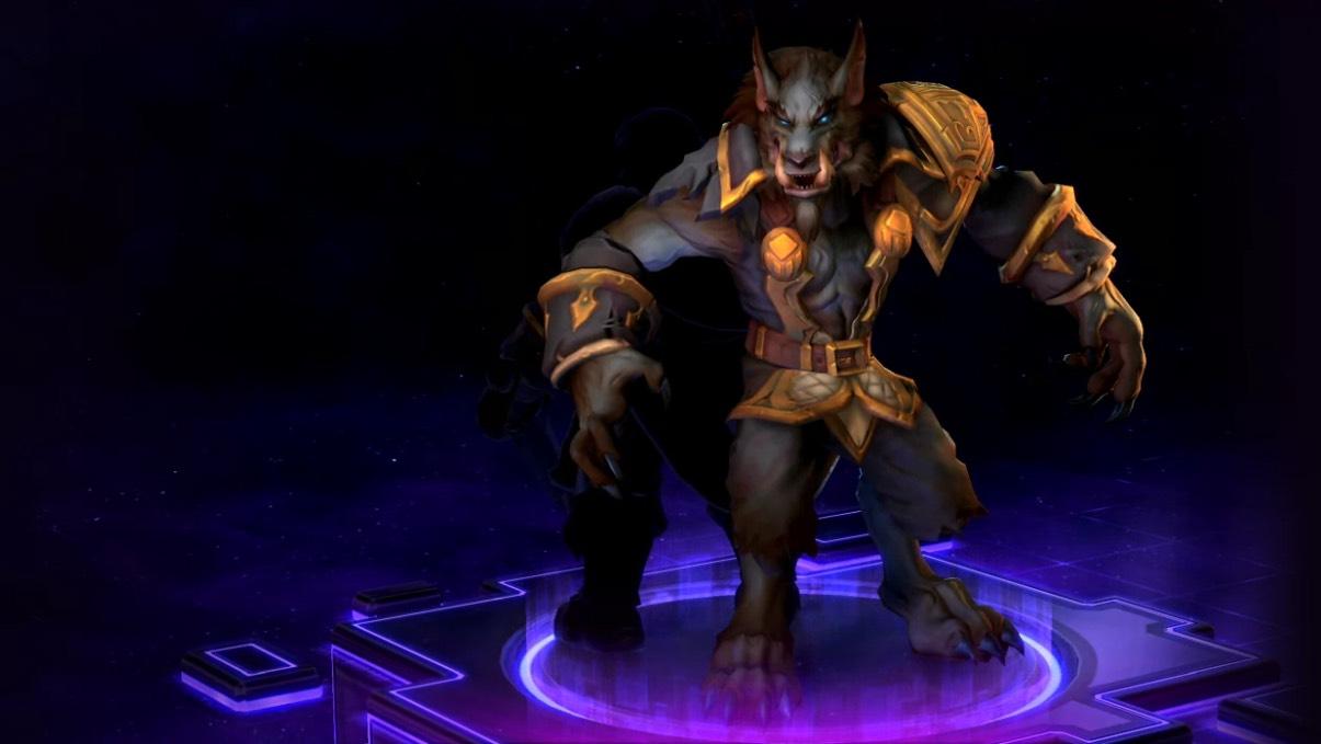 Heroes of the Storm: Genn Greymane skins