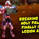 Lightsworn: Holy Paladin Legion updates