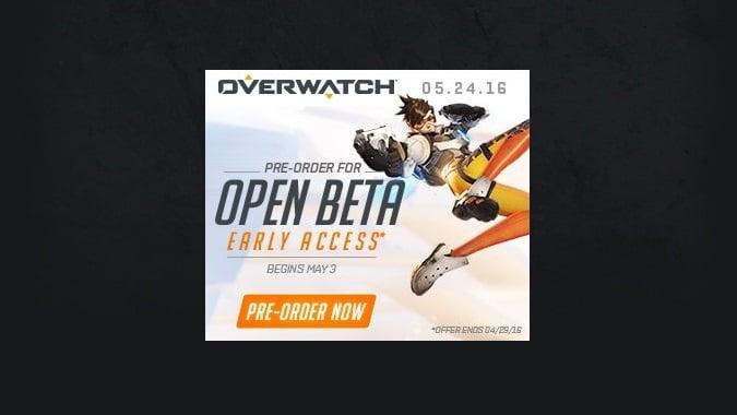 OW Open Beta Header