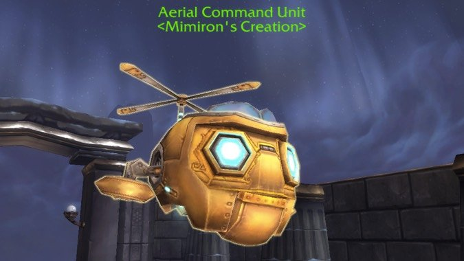 aerial command unit beast mastery header