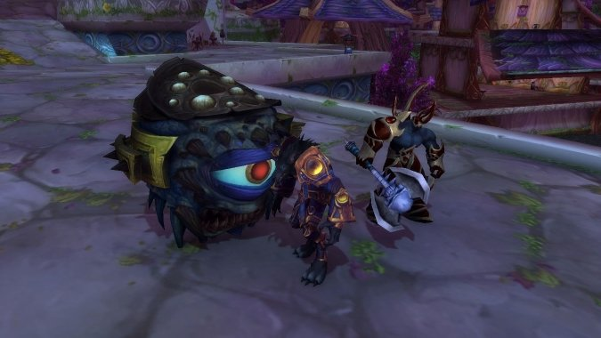 Updated graphics for Warlock pets