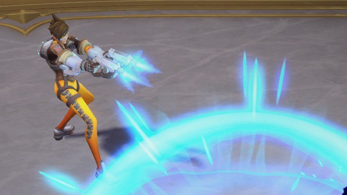Tracer screenshots and skills from Heroes of the Storm