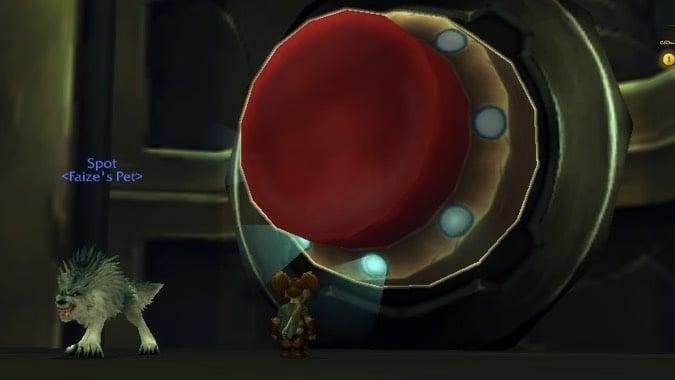 hunter big red button header