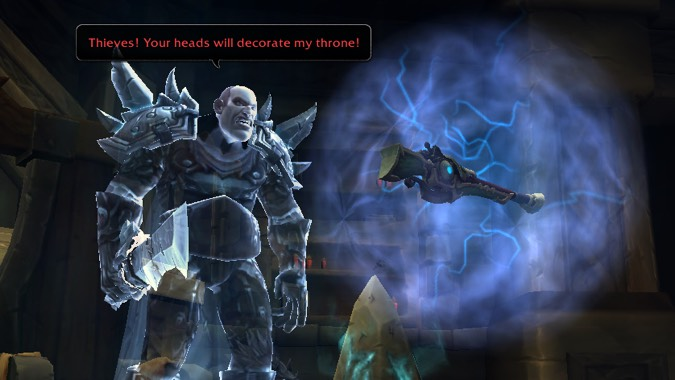 hunter quest titanstrike thieves
