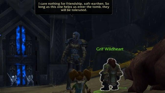hunter titanstrike quest friendship