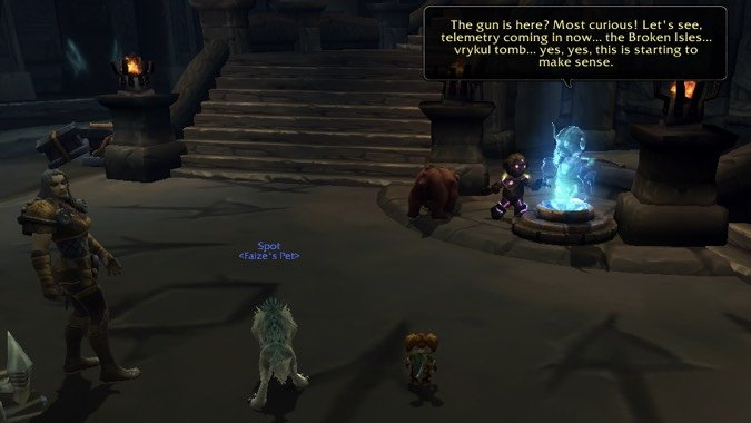 hunter titanstrike quest why