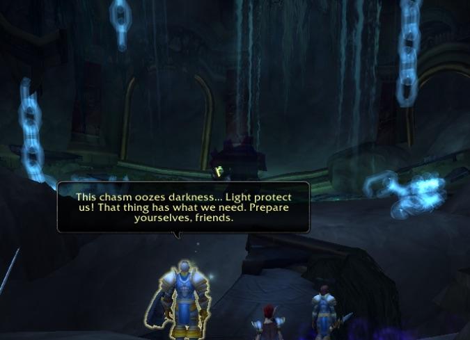 trys tomb oozes darkness legion