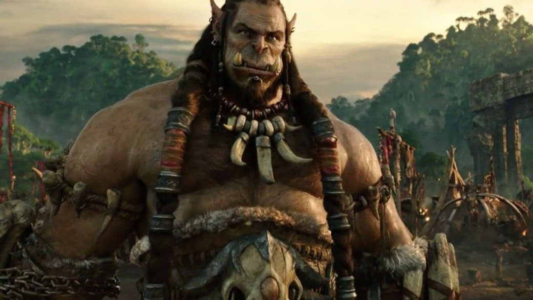 warcraft movie trailer orc