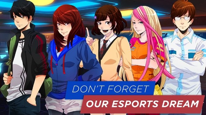 don't forget our esports dream