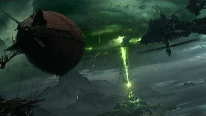 legion trailer airships