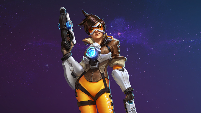 Tracer joins Heroes of the Storm with this week's hero rotation