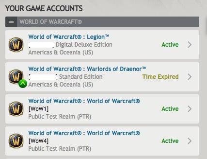 battlenet account summary