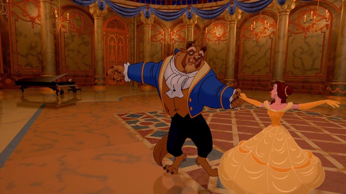 beauty and the beast animated