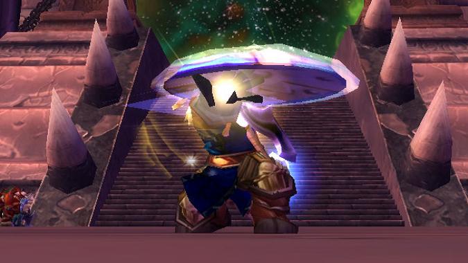 paladin casting Avenger's Shield