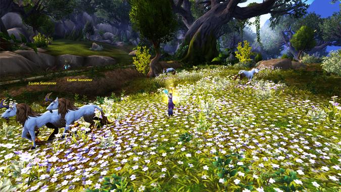 unicorn-flower-field