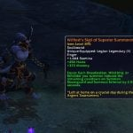 Blood Pact: Legion's Warlock legendaries