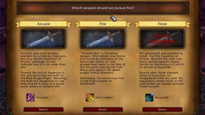 Arcane_Sanctum_weapon_choice