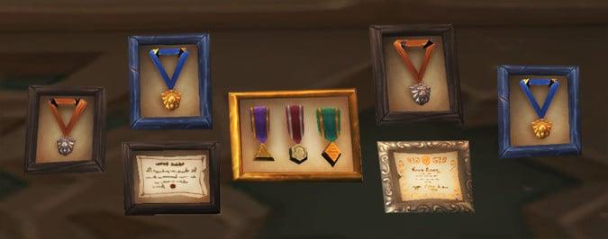 Warcraft Medals