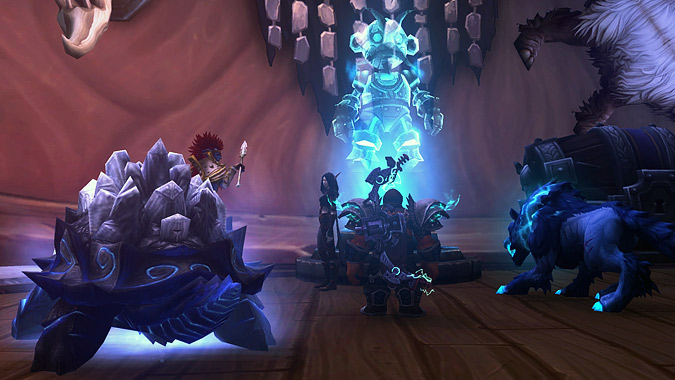 Mimiron offers a quest to change Hati's appearance