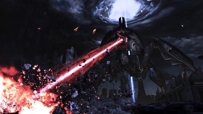 mass effect reaper earth