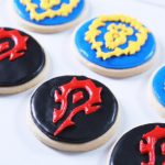 Warcraft cookies from Nerdy Nummies
