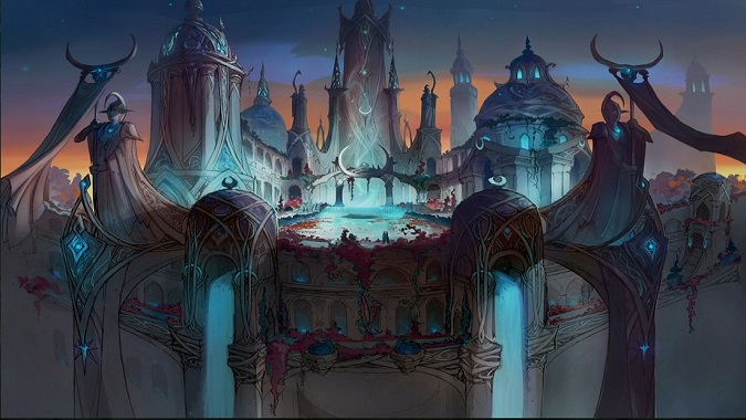 nighthold raid concept art