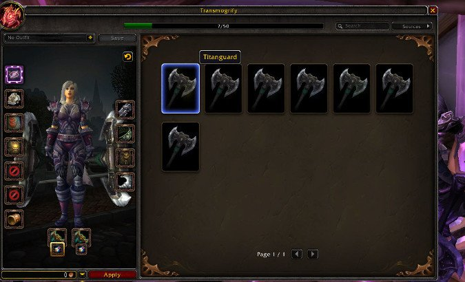 A guide to transmogrification in Legion | Blizzard Watch