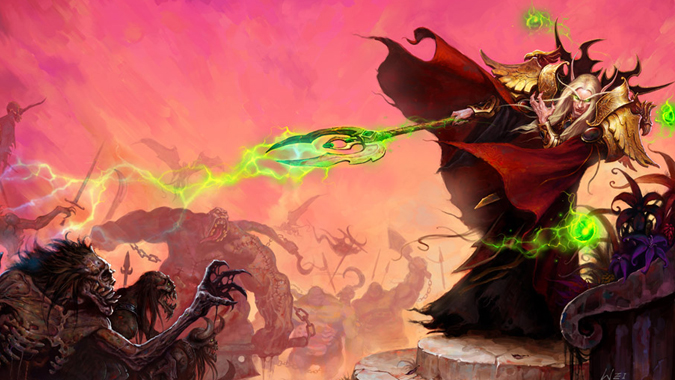 Role Play: Blood Elf lore and character development