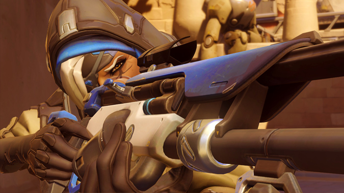 The latest Overwatch PTR buffs Ana, nerfs Brigitte