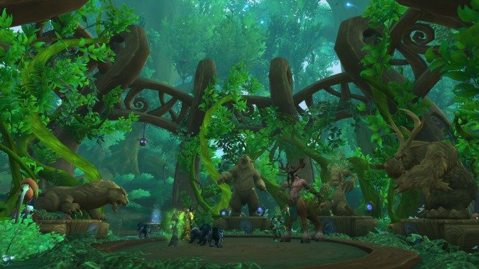 Best Druid talents for leveling and 5-mans in Legion