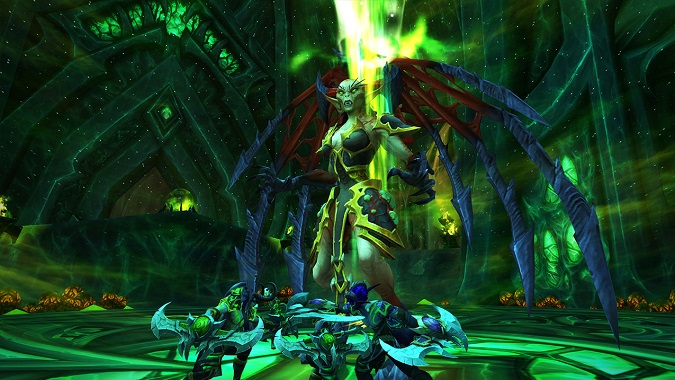 Demon hunter quest line boss