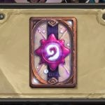 Hearthstone's August card back features Medivh's Invitation