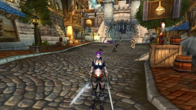 how massively multiplayer is your world of warcraft play