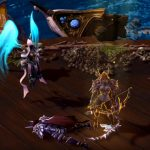 Auriel whips the Nexus into a healing frenzy
