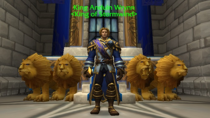 king anduin