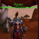 Buy Darkspear Rebellion toys from Ravika before heading to the Broken Shore