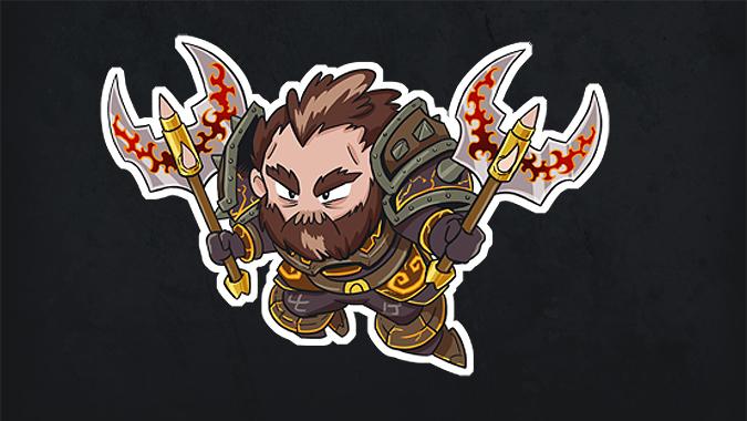 warrior_sticker