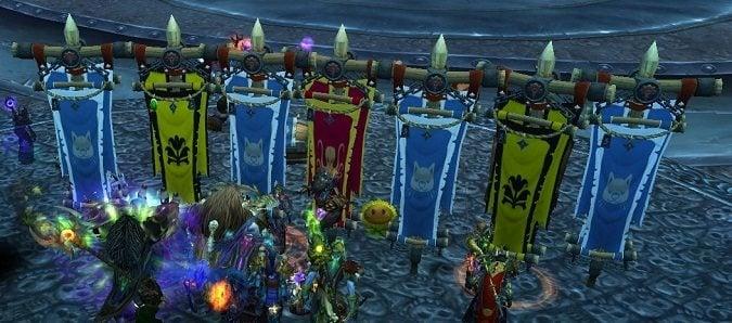 guild battle standards