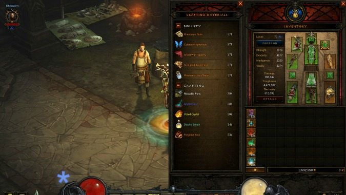 Blizzcon 2016 diablo 3 dev talk and q a panel highlights for Diablo 3 crafting items