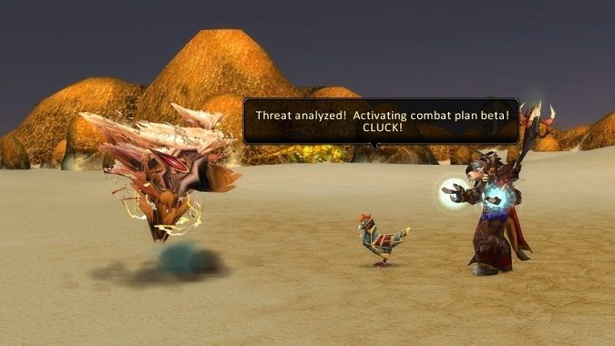 chicken escort quest