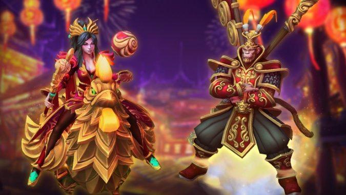heroes li ming samuro lunar festival