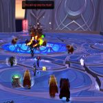 Spiritual Guidance: Priest healing in upper Nighthold