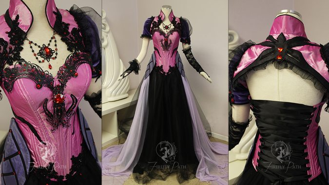 Firefly Path creates amazing Blizzard-inspired gowns | Blizzard Watch