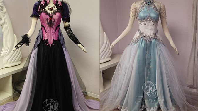 Firefly Path Creates Amazing Blizzard Inspired Gowns